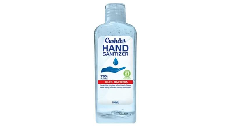 Cusheen Hand Sanitiser 75% alcohol 100ml