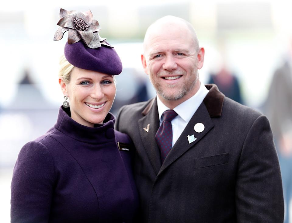 <p>Zara Tindall and Mike Tindall at the Cheltenham Festival 2020. She is an accomplished sportswoman. (Max Mumby/Indigo/Getty Images)</p>