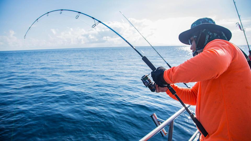 Sea Fishing With Spinning - Image.