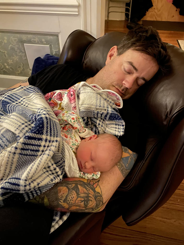 Carson Daly Shares Adorable New Photo Of Baby Daughter Goldie