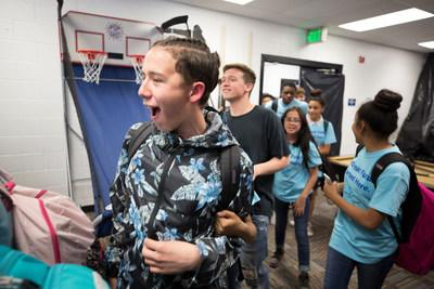 Aaron's, Inc., a leading omnichannel provider of lease-purchase solutions, and its divisions Aaron's and Progressive Leasing, announced today that the Aaron's Foundation has renewed its national partnership with Boys & Girls Clubs of America (BGCA). A surprise reveal of a makeover of its Teen Center valued at $25,000 was held on September 20 at the Lied Boys & Girls Club in Salt Lake City, Utah, to announce the renewed partnership and Aaron's continued support of the Keystone Club program.