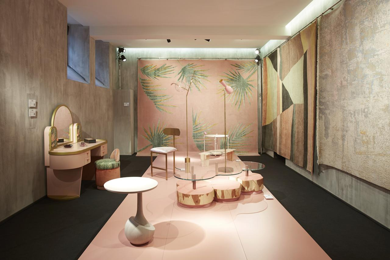 """This is millennial pink like you've never seen it before. For its MDW installation, <a rel=""""nofollow"""" href=""""https://www.architecturaldigest.com/story/artemest-5-million-funding-icff-charity-auction-las-vegas-expo-center-rochelle-udell-news?mbid=synd_yahoo_rss"""">Artemest</a>, the e-tailer of Italian artisan goods, teamed up with new design resource <a rel=""""nofollow"""" href=""""https://www.tedmilano.com/en/"""">TED Milano</a> for Stranger Pinks, a celebration of women through rosy-hued design. The installation, housed in the 1930s villa that TED Milano calls home, features handmade work by over a dozen of the Italian talents featured on Artemest's site—no rose-colored glasses necessary. <em>Via G. Randaccio 5.</em> <em>—Hadley Keller</em>"""