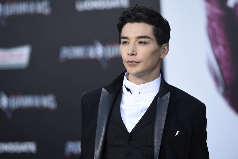 """Ludi Lin at the Los Angeles premiere of """"Power Rangers"""". (Photo: AP)"""