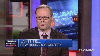 James Bell, VP for global strategy at Pew Research Center, talks about the state of the U.S. politics, with comment on the administration, policies and society's sentiment towards the White House.