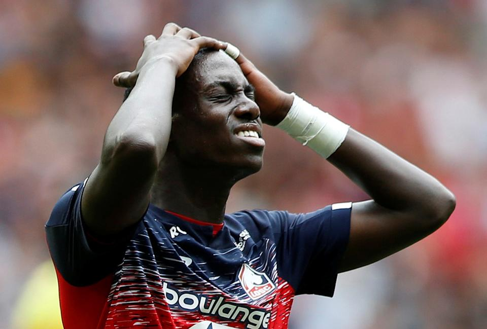 Lille's Tim Weah is out for the season following hamstring surgery. (Reuters/Pascal Rossignol)