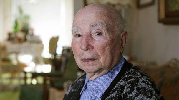 PHOTO: Holocaust survivor Leon Sherman at his home in Queens, New York, Jan. 16, 2020. (JP Keenan/ABC News)