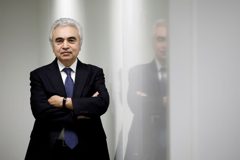 FILE PHOTO: Fatih Birol, Executive Director of the International Energy Agency