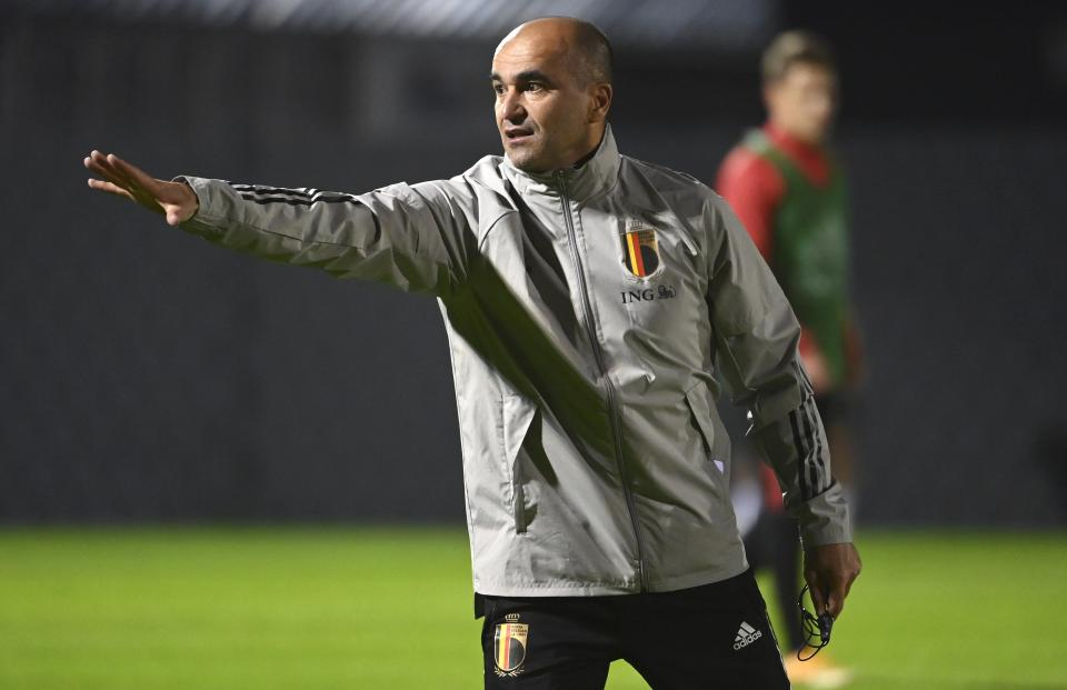 Spanish manager Roberto Martinez has united Belgium's national team in more ways than one. ( Photo by Vincent Kalut / Photonews via Getty Images)