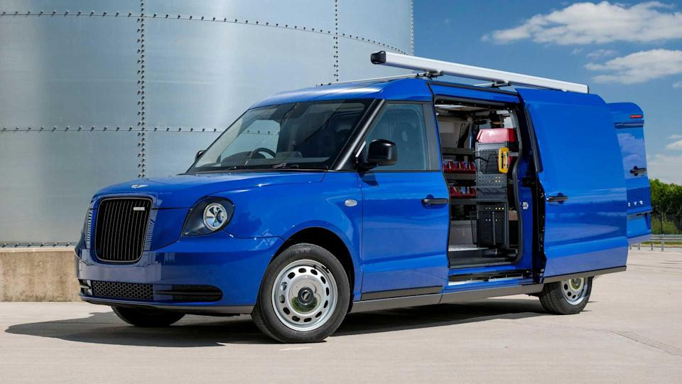 First LEVC electric van conversion announced