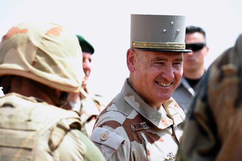 General Patrick Brethous said Islamist groups were now selecting easy targets beyond the reach of his Operation Barkhane because they had been outmanoeuvred on home turf (AFP Photo/Miguel Medina)