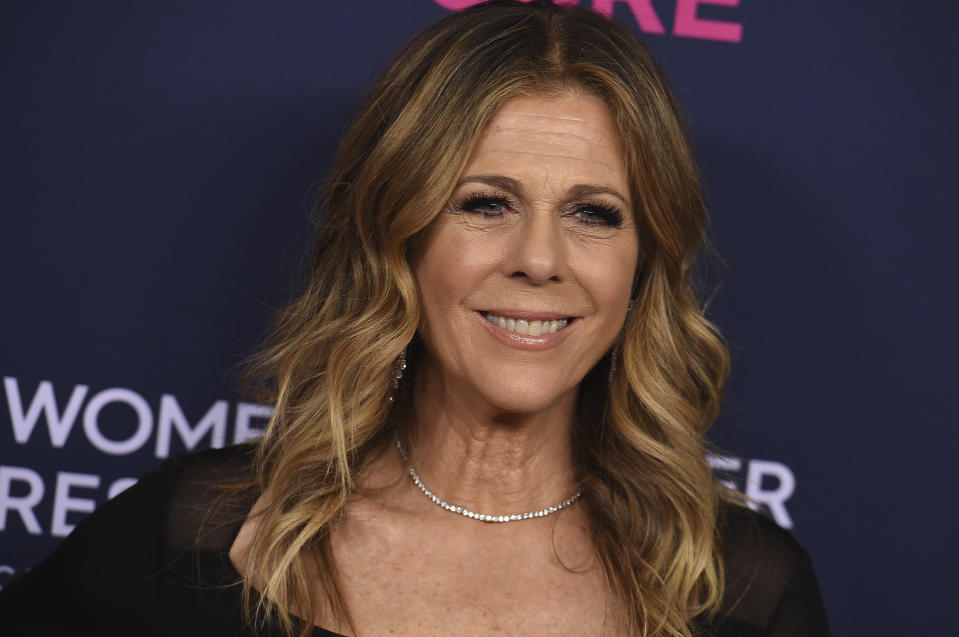 Rita Wilson attends the 2020 An Unforgettable Evening at Beverly Wilshire on Thursday, Feb. 27, 2020 in Beverly Hills, Calif. (Photo by Jordan Strauss/Invision/AP)