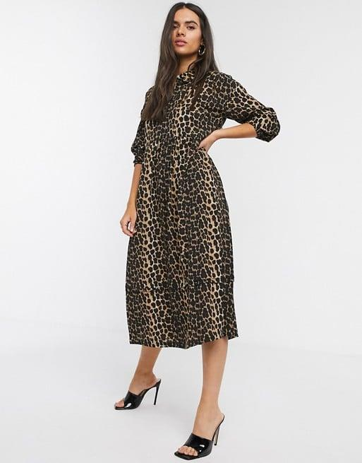 """<p>This <a href=""""https://www.popsugar.com/buy/Vero-Moda-Midi-Shirt-Dress-543124?p_name=Vero%20Moda%20Midi%20Shirt%20Dress&retailer=asos.com&pid=543124&price=74&evar1=fab%3Aus&evar9=47138343&evar98=https%3A%2F%2Fwww.popsugar.com%2Ffashion%2Fphoto-gallery%2F47138343%2Fimage%2F47139052%2FVero-Moda-Midi-Shirt-Dress&list1=shopping%2Cdresses%2Canimal%20print%2Cleopard%20print%2Cwinter%20fashion&prop13=mobile&pdata=1"""" rel=""""nofollow"""" data-shoppable-link=""""1"""" target=""""_blank"""" class=""""ga-track"""" data-ga-category=""""Related"""" data-ga-label=""""https://www.asos.com/us/vero-moda/vero-moda-midi-shirt-dress-with-puff-sleeves-in-leopard-print/prd/14486972?clr=multi&amp;colourWayId=16619813&amp;SearchQuery=leopard%20dress"""" data-ga-action=""""In-Line Links"""">Vero Moda Midi Shirt Dress </a> ($74) is the perfect design to wear to work.</p>"""