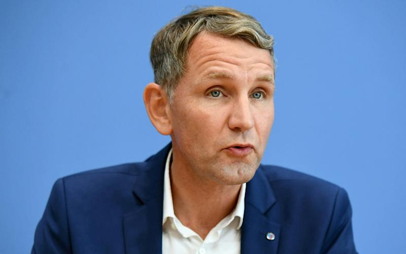 The AfD in Thuringia, led by Bjoern Hoecker, wants a coalition with the CDU - REUTERS