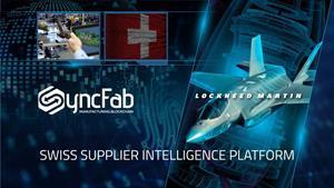 SyncFab signs a deal that will bring Lockheed Martin to its blockchain platform.