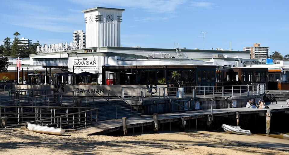 The Bavarian underwent a deep clean after someone who visited on July 24 tested positive. Source: AAP