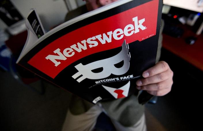 Newsweek declines to comment after the departure of top editors and other journalists reportedly working on a story on their own company's finances (AFP Photo/NICHOLAS KAMM)