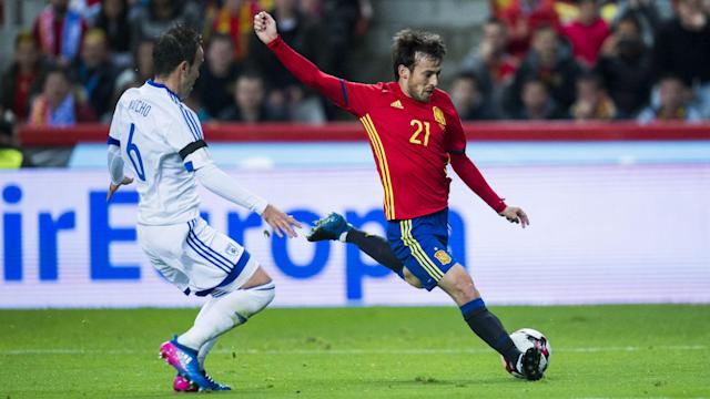 Goals from David Silva, Vitolo, Diego Costa and Isco helped Spain record a comfortable 4-1 win over Israel in World Cup qualifying.