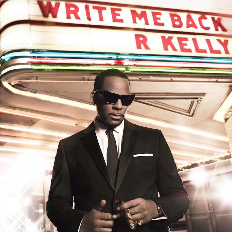 "This CD cover image released by RCA Records shows the latest release for R. Kelly, ""Write Me Back."" (AP Photo/RCA Records)"