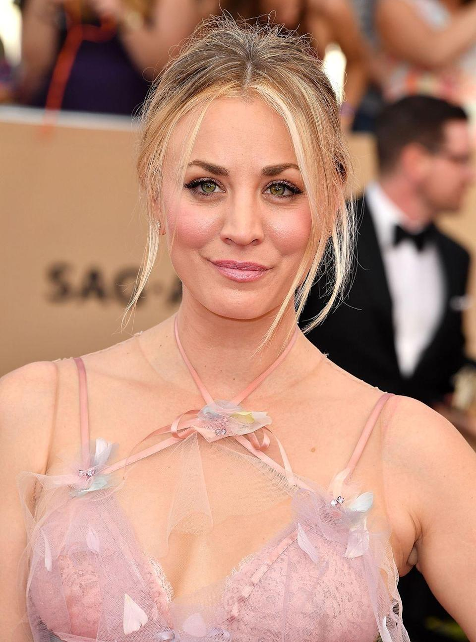 """<p>The <em>Big Bang Theory </em>star told <em><a href=""""https://www.womenshealthmag.com/life/kaley-cuoco-plastic-surgery"""" rel=""""nofollow noopener"""" target=""""_blank"""" data-ylk=""""slk:W"""" class=""""link rapid-noclick-resp"""">W</a></em><em><a href=""""https://www.womenshealthmag.com/life/kaley-cuoco-plastic-surgery"""" rel=""""nofollow noopener"""" target=""""_blank"""" data-ylk=""""slk:omen's Health"""" class=""""link rapid-noclick-resp"""">omen's Health</a></em> that she had a nose job, breast augmentation (""""the best thing I ever did,"""" she said), and a round of fillers. """"As much as you want to love your inner self, I'm sorry, you also want to look good,"""" she said. """"I don't think you should do it for a man or anyone else, but if it makes you feel confident, that's amazing.""""</p>"""