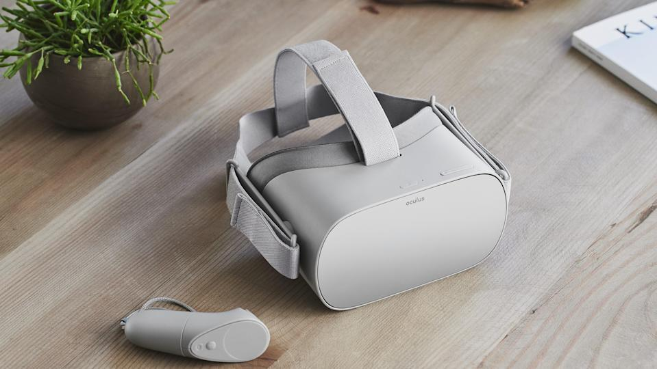 The $199 Oculus Go launched on May 1 with over 1,000 apps and games. Source: Oculus