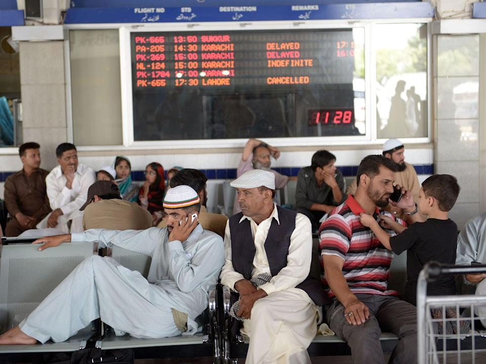 The incident occurred at Islamabad airport