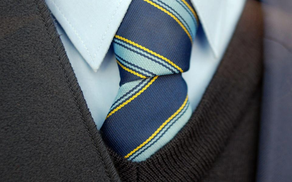 Close up photo of a neck tie - Getty Contributor/Getty Images Contributor