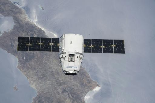 SpaceX's Dragon capsule, seen here in a cargo configuration, during a NASA mission to the International Space Station in July 2018
