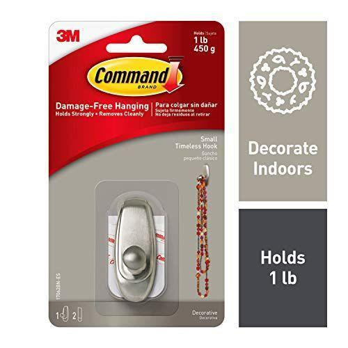 """<p><strong>3M Command</strong></p><p>amazon.com</p><p><strong>$7.08</strong></p><p><a href=""""https://www.amazon.com/dp/B007DD9TKO?tag=syn-yahoo-20&ascsubtag=%5Bartid%7C10055.g.27332121%5Bsrc%7Cyahoo-us"""" rel=""""nofollow noopener"""" target=""""_blank"""" data-ylk=""""slk:Shop Now"""" class=""""link rapid-noclick-resp"""">Shop Now</a></p><p>Because you need a place to hang up your towels. Command hooks stick to many different surfaces, hold strong, and don't damage walls when you take them down at the end of the year.</p>"""