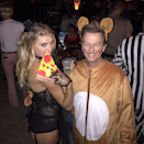 The New York City rat taking a full slice of pizza down to the subway had its 15 minutes of fame back in 2015—and David Spade extended its time in the spotlight by bringing it to life for Halloween. Grab a rat or mouse outfit from the nearest costume store and snack on pizza slices all night—you can't lose.