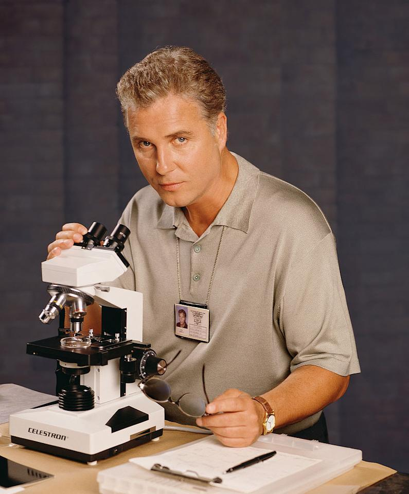 "Although ""CSI"" almost didn't make it onto the CBS schedule, William Petersen knew from the start that the show was special. Viewers were immediately captivated with senior forensics officer Gil Grissom and his passionate team of investigators. (Premiere Episode 10/6/2000, Season 1)"