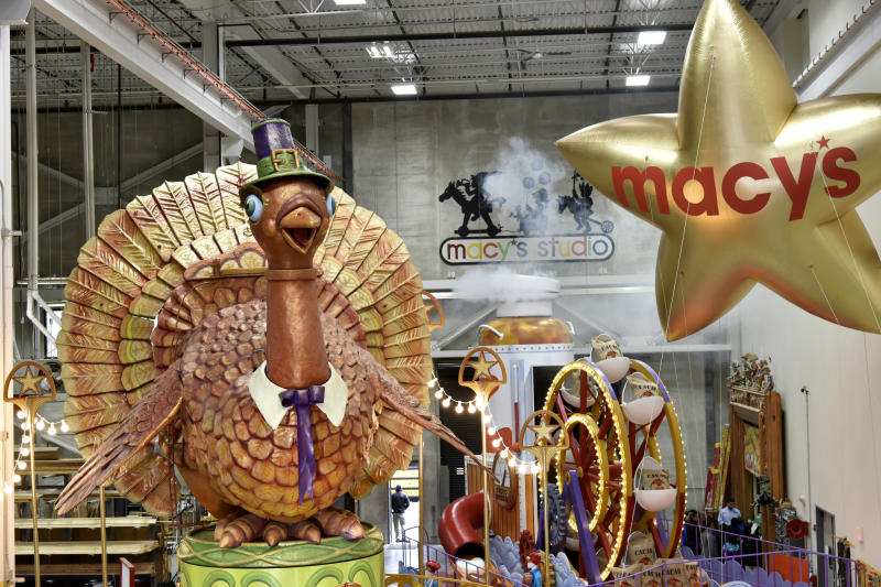 Macy's debuts new floats for the 2018 Macy's Thanksgiving Day Parade. (Photo by Eugene Gologursky/Getty Images for Macy's)
