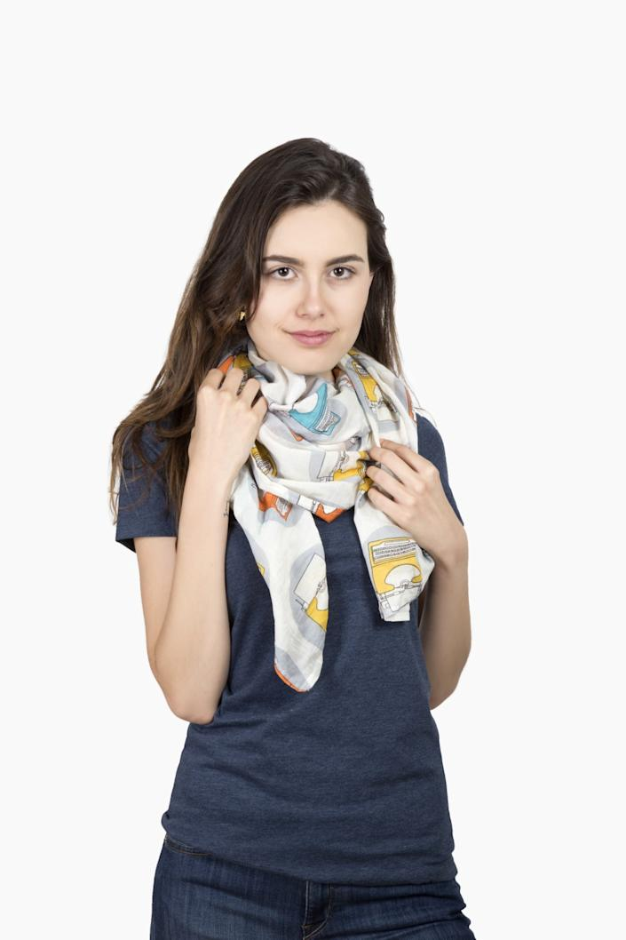 Out of Print scarf