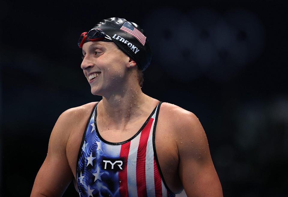 """<p>Biography: 24 years old</p> <p>Event: Women's 800m freestyle (swimming)</p> <p>Quote: """"I just trusted myself, trusted that I could pull it out and swim it whatever way I needed to.""""</p>"""