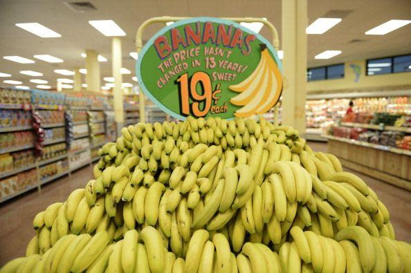 """<p>As the story goes, Trader Joe's was trying to figure out how to price bananas (by the bundle or individually) when a Sun City employee noticed an old woman inspecting the fruit and ultimately putting it back. When he asked her why, she told him, """"Sonny, I may not live to that fourth banana."""" According to Dan Bane, CEO and chairman at Trader Joe's, the company """"decided the next day that we were going to sell individual bananas, and they've been 19 cents ever since,"""" he said on the <a href=""""https://www.traderjoes.com/digin/post/inside-tjs-podcast"""" rel=""""nofollow noopener"""" target=""""_blank"""" data-ylk=""""slk:Trader Joe's podcast"""" class=""""link rapid-noclick-resp"""">Trader Joe's podcast</a>. </p>"""
