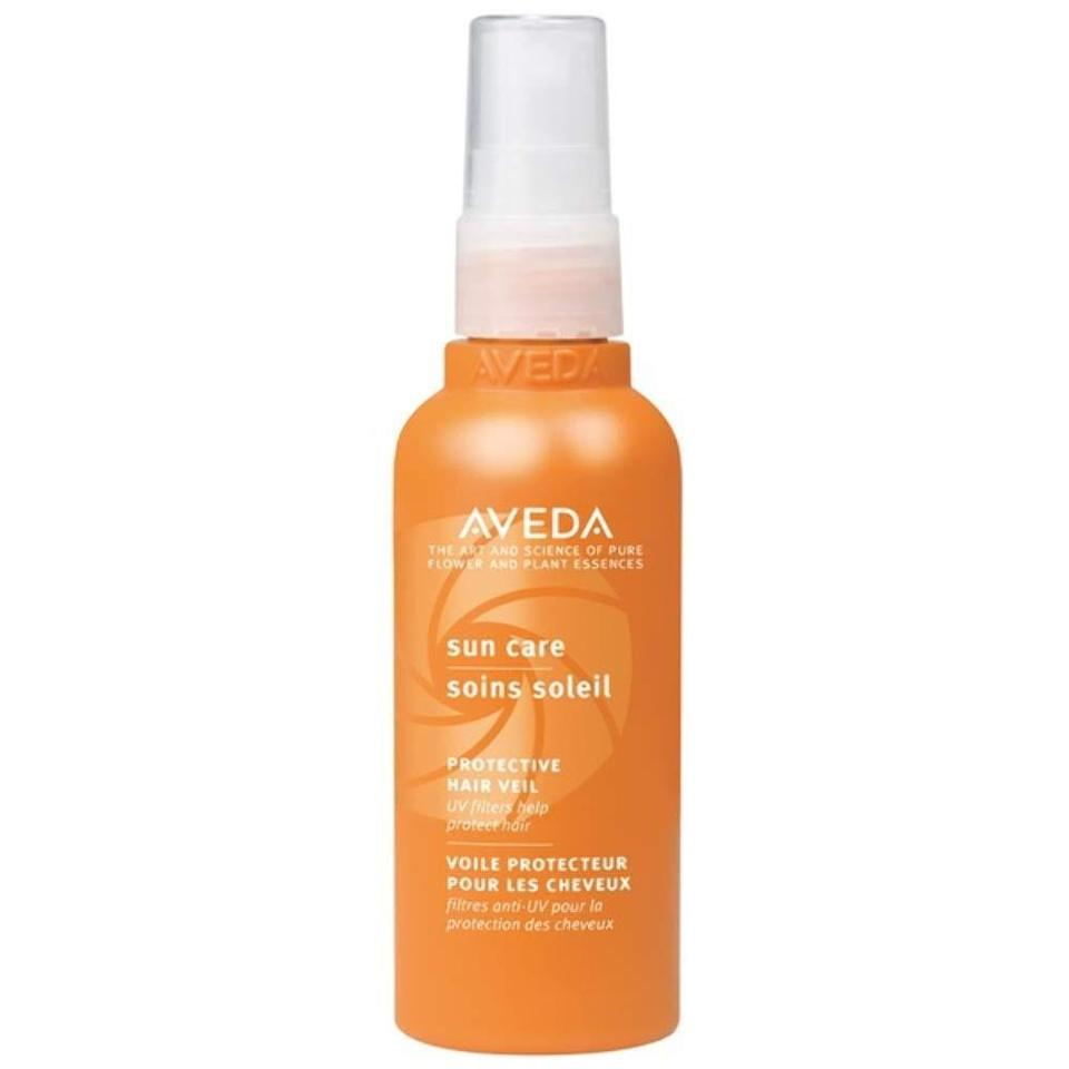 """<p>Weightless and non-greasy, Aveda's Sun Care Protective Hair Veil contains UV filters obtained from wintergreen and cinnamon bark oils that help hinder the hair-drying effects of the sun. It's also infused with nourishing ingredients like green tea extract, shea butter, coconut oil, and <a href=""""https://www.allure.com/story/vitamin-e-skin-care?mbid=synd_yahoo_rss"""" rel=""""nofollow noopener"""" target=""""_blank"""" data-ylk=""""slk:vitamin E"""" class=""""link rapid-noclick-resp"""">vitamin E</a>, which condition the hair and make strands look shiny, soft, and smooth.</p> <p><strong>$43</strong> (<a href=""""https://shop-links.co/1709756383531831897"""" rel=""""nofollow noopener"""" target=""""_blank"""" data-ylk=""""slk:Shop Now"""" class=""""link rapid-noclick-resp"""">Shop Now</a>)</p>"""