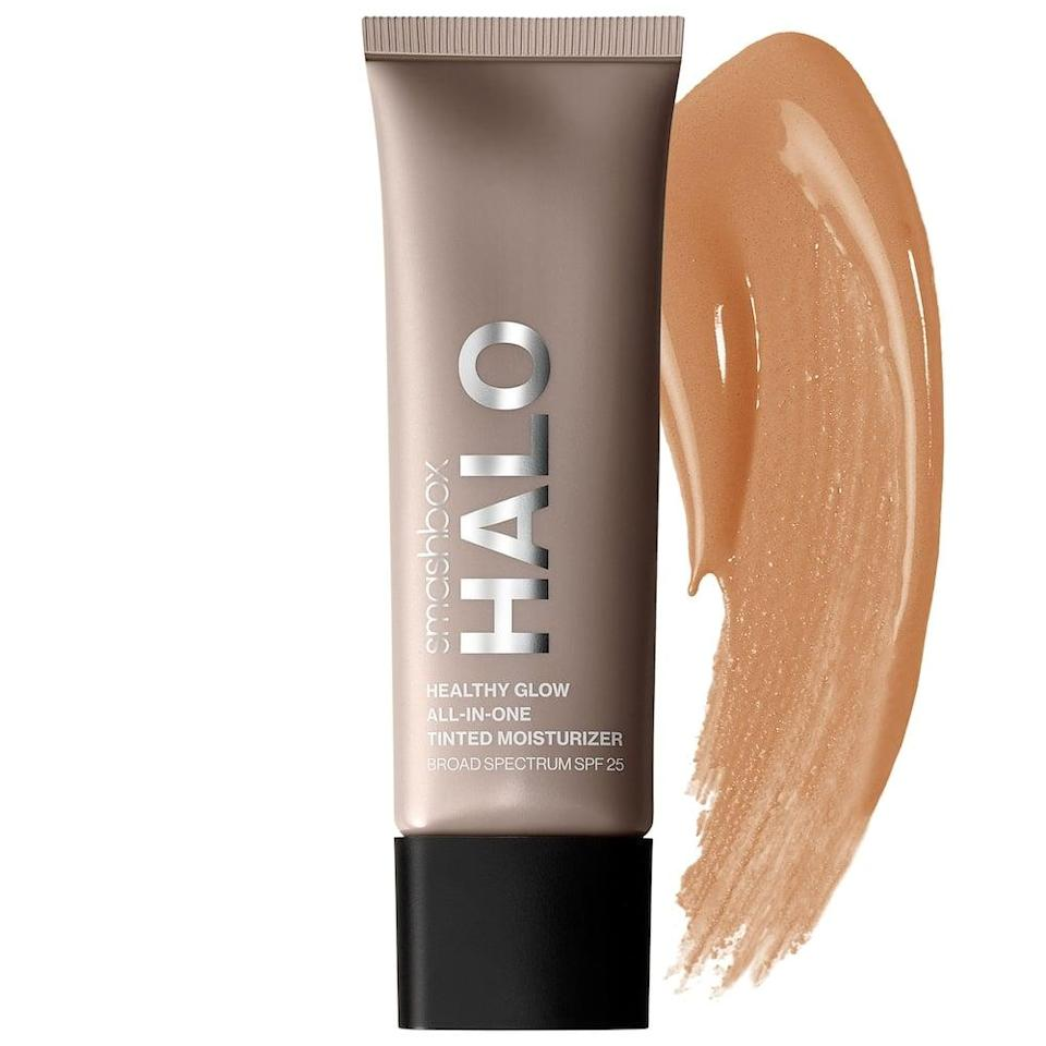 <p>If you want to achieve the no makeup, makeup look the <span>Smashbox Halo Healthy Glow Tinted Moisturizer Broad Spectrum SPF 25</span> ($36) will be your go-to!</p>