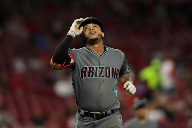 Ketel Marte has shown out this season. Mandatory Credit: Aaron Doster-USA TODAY Sports