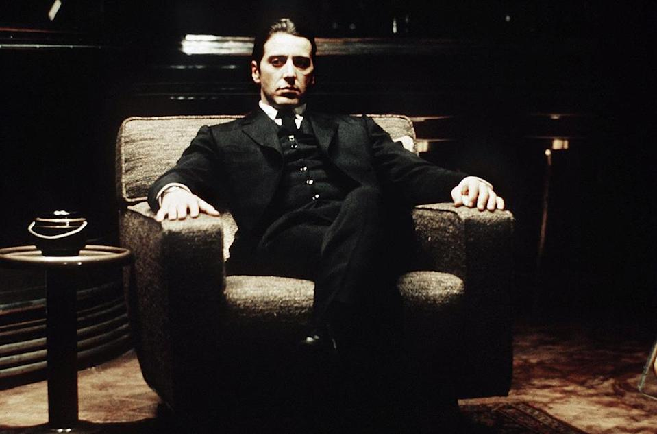 """<a href=""""http://movies.yahoo.com/movie/the-godfather-part-ii/"""" data-ylk=""""slk:THE GODFATHER PART II"""" class=""""link rapid-noclick-resp"""">THE GODFATHER PART II</a> (1974) <br>Directed by: <span>Francis Ford Coppola</span> <br> Starring: <span>Al Pacino</span>, <span>Robert Duvall</span> and <span>Diane Keaton</span>"""