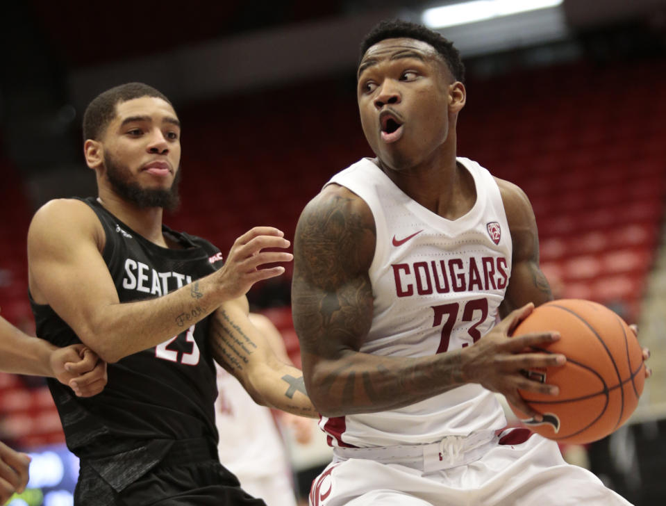 Jaylen Shead shared several incidents in which he said his former coach made disturbing, racist remarks to him and his teammates at Texas State.