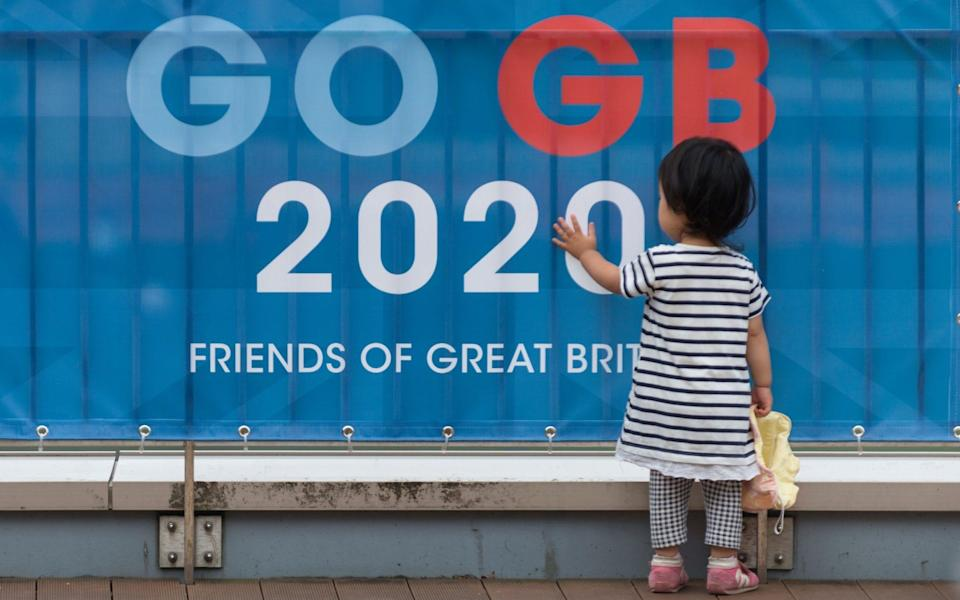 Go GB banner in Tokyo –Team GB to pressurise Government into fast-tracking its athletes for vaccination - ROBERT GILHOOLY