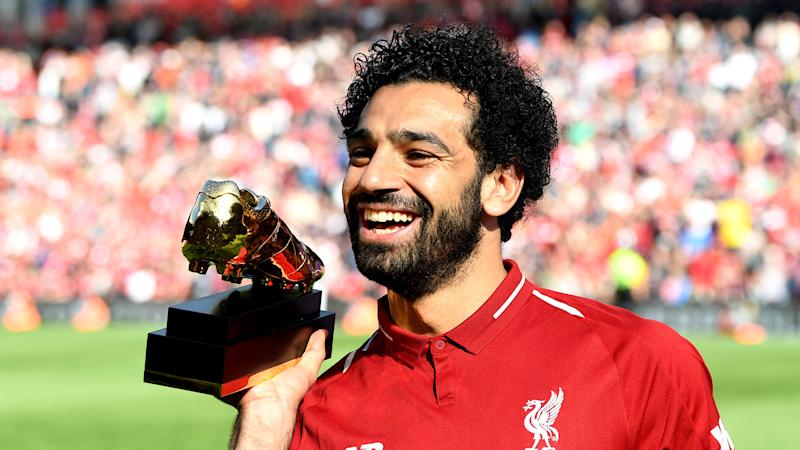 Salah targets third Golden Boot after achieving Premier League title goal with Liverpool