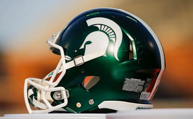 Three Michigan State football players were charged Tuesday with sexual assault after a lengthy investigation into a January accusation. (Getty)