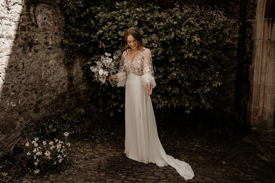 """<p>Hunting for The One doesn't just end with meeting your partner; then begins the search for that all-important wedding dress. </p><p>Whether you're looking for something traditional or more <a href=""""https://www.harpersbazaar.com/uk/bazaar-brides/g35902774/best-wedding-dress-designers/"""" rel=""""nofollow noopener"""" target=""""_blank"""" data-ylk=""""slk:contemporary"""" class=""""link rapid-noclick-resp"""">contemporary</a>, at the top end of the scale or more <a href=""""https://www.harpersbazaar.com/uk/bazaar-brides/g33592647/high-street-affordable-wedding-dresses/"""" rel=""""nofollow noopener"""" target=""""_blank"""" data-ylk=""""slk:affordable"""" class=""""link rapid-noclick-resp"""">affordable</a>, or perhaps even <a href=""""https://www.harpersbazaar.com/uk/bazaar-brides/a35795121/the-loop-sustainable-wedding-dresses/"""" rel=""""nofollow noopener"""" target=""""_blank"""" data-ylk=""""slk:something pre-owned"""" class=""""link rapid-noclick-resp"""">something pre-owned</a> in a bid to be more sustainable, there's an incredible array of options out there. </p><p>But where better to get inspiration than from real women on their wedding days? Here we bring you a selection of beautiful brides on their big day, all with very different tastes, styles and budgets. (For more inspiration from <a href=""""https://www.harpersbazaar.com/uk/bazaar-brides/g34424982/coronavirus-wedding-real-brides/"""" rel=""""nofollow noopener"""" target=""""_blank"""" data-ylk=""""slk:brides who got married in the depths of the Covid pandemic, click here"""" class=""""link rapid-noclick-resp"""">brides who got married in the depths of the Covid pandemic, click here</a>). </p><p>Prepare to feel inspired... </p>"""