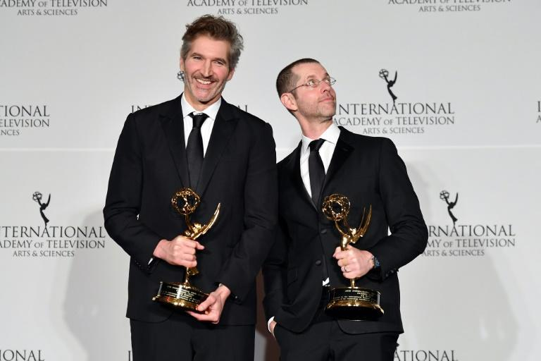 """""""Game of Thrones"""" showrunners Dan Weiss (R) and David Benioff (L) brought the world of Westeros to life"""