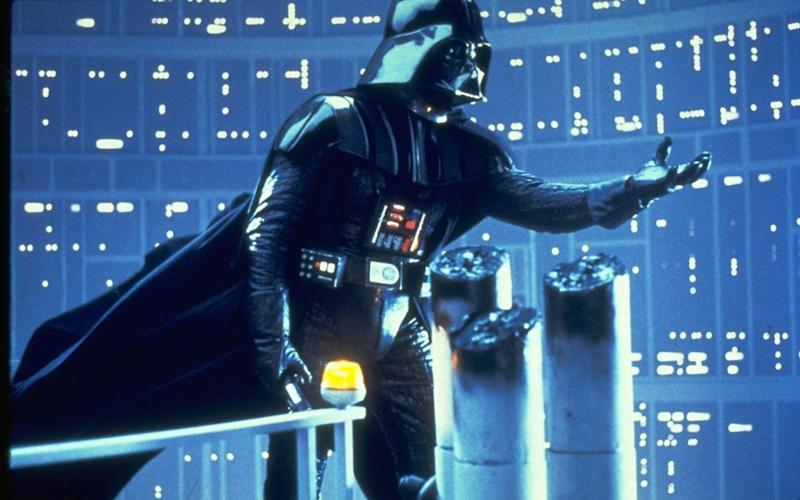 Darth Vader in the Empire strikes Back. - Film Stills