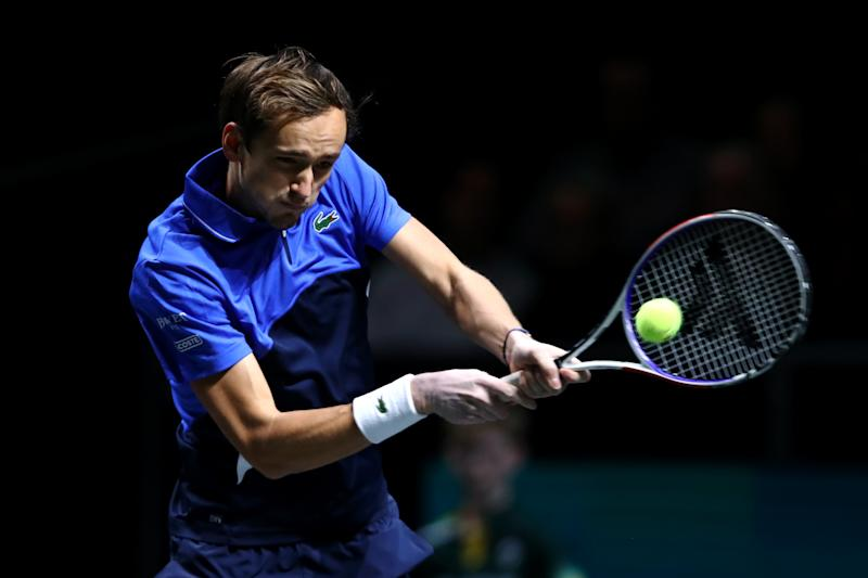 Medvedev sees off Sinner in Marseille but Goffin goes down again