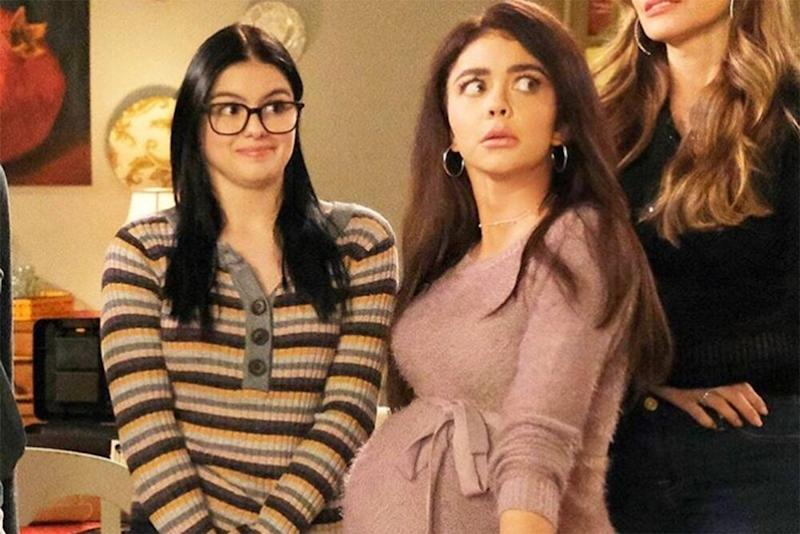 Ariel Winter and Sarah Hyland in Modern Family  | Sarah Hyland/Instagram