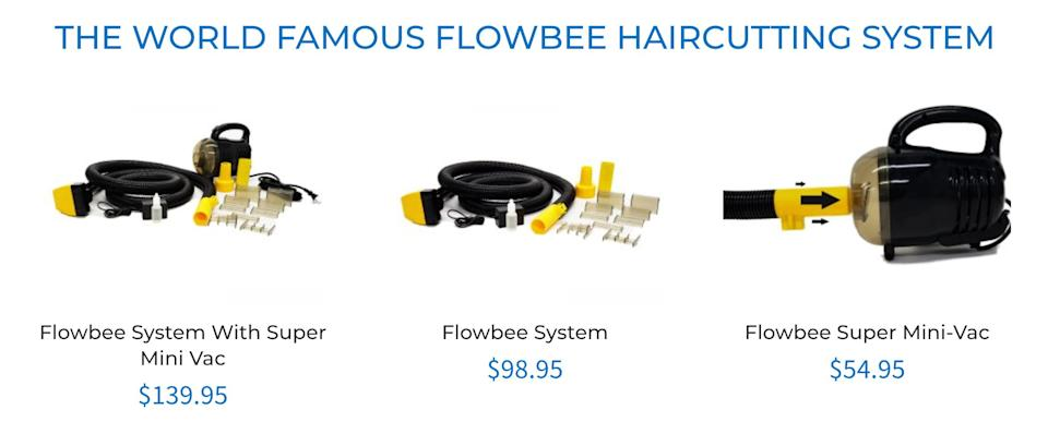 "Flowbee, used by George Clooney himself.  (Photo: <a href=""https://flowbee.com/"" target=""_blank"">Flowbee</a>)"