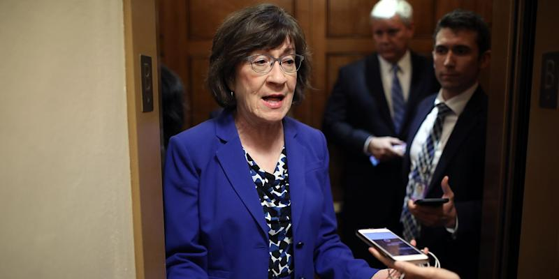 Biting Twitter Reactions to Susan Collins' Support of Brett Kavanaugh