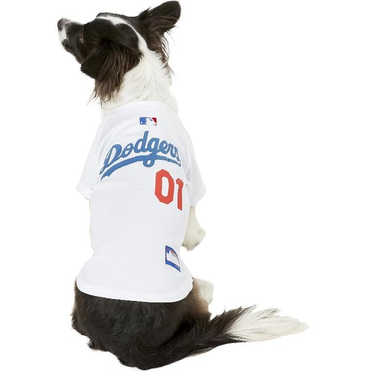 Pets First MLB Dog & Cat Jersey. (Photo: Chewy)